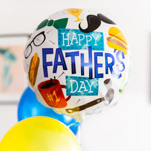 #1 Dad - Fathers Day Balloon Bouquet