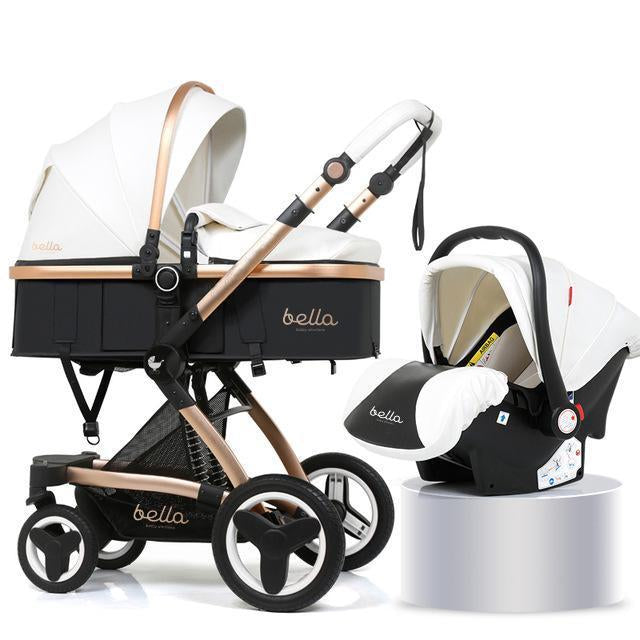 Baby Stroller Travel System with Car Seat, Bassinet - 3 in ...