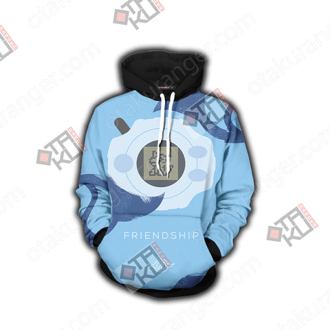 Digimon Gabumon The Crest Of Friendship 3D Hoodie