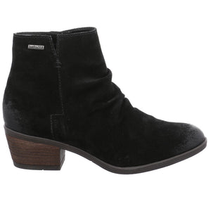 Daphne 50 Black Suede Leather