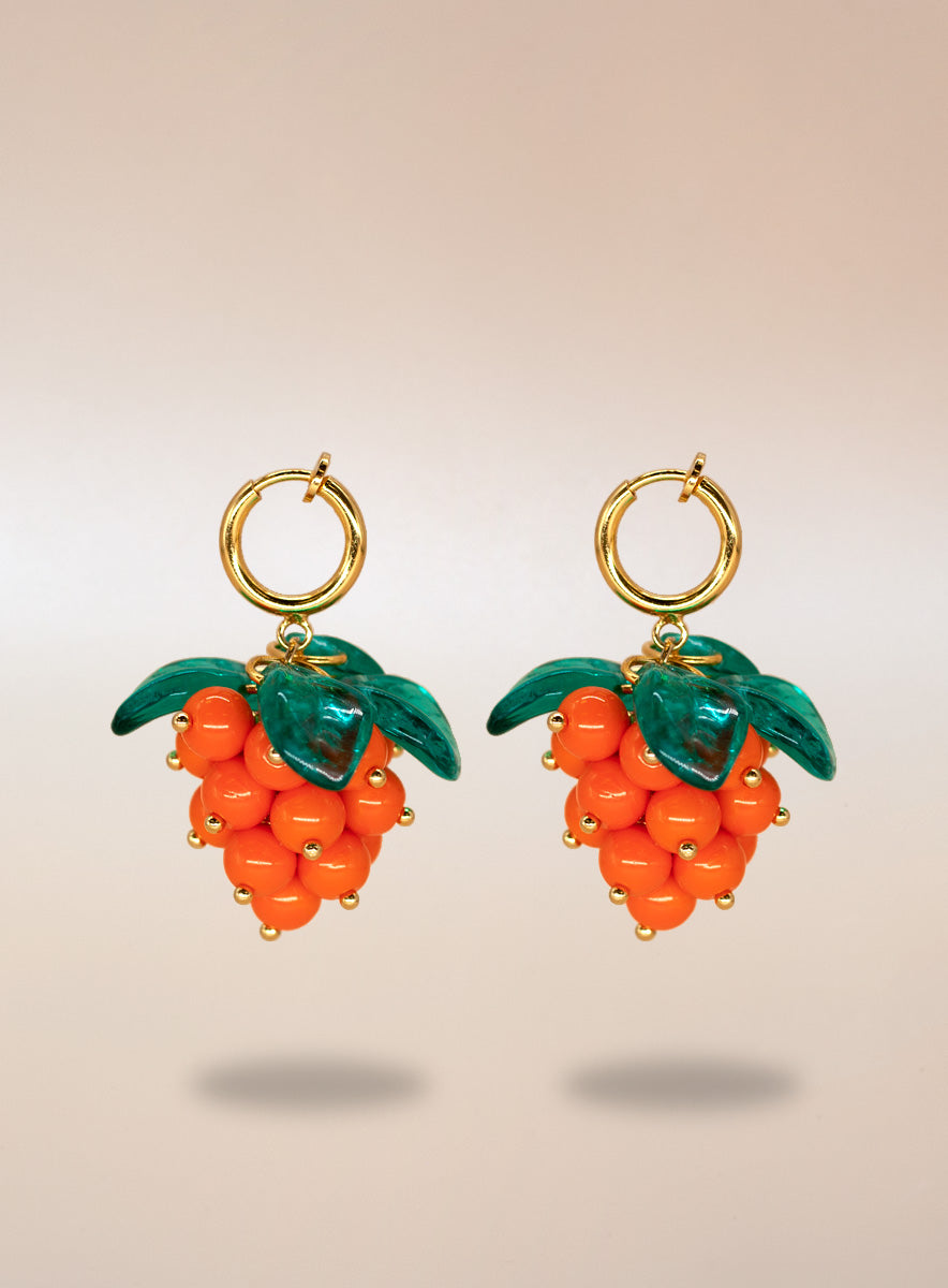 Cloudberry Cute Clip-on Earrings