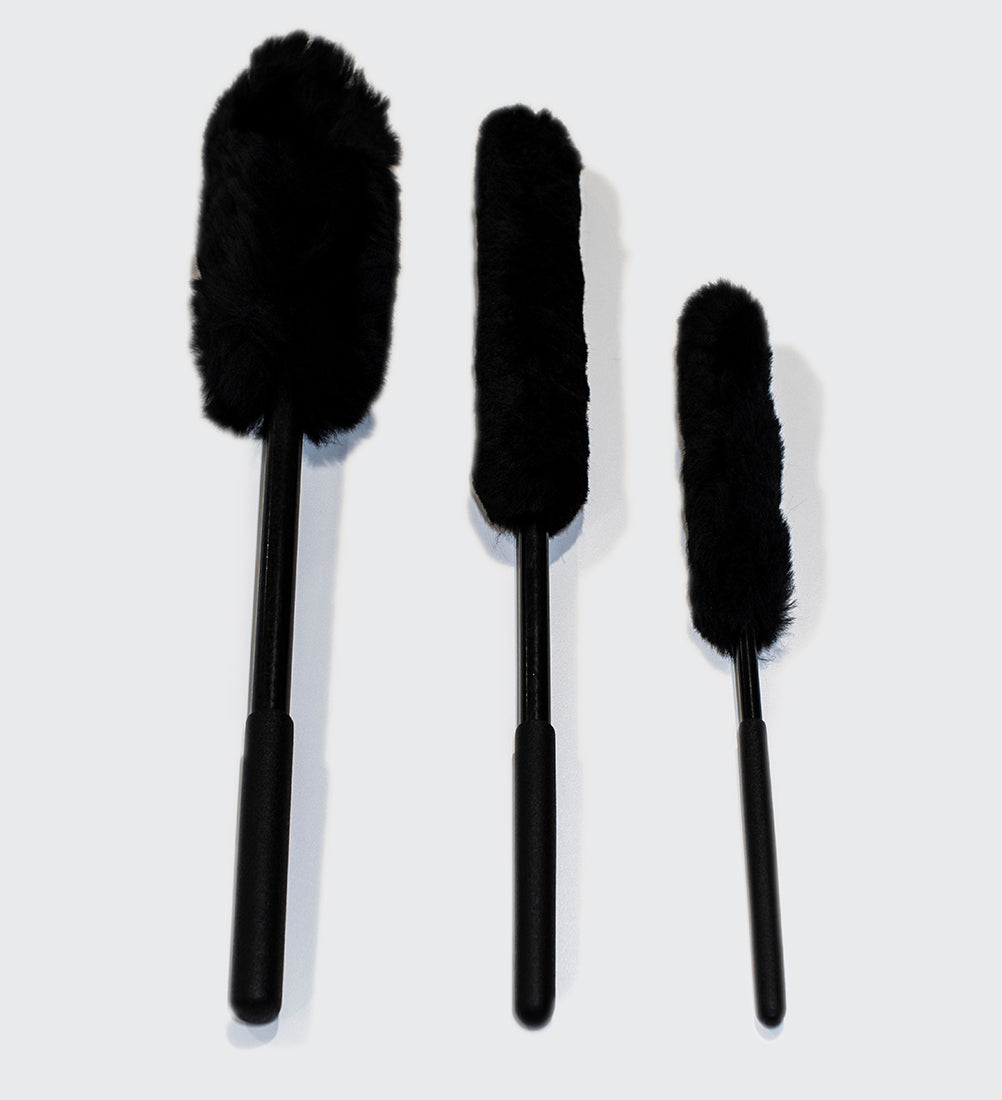 100% Sheepskin Wheel Cleaning Brush