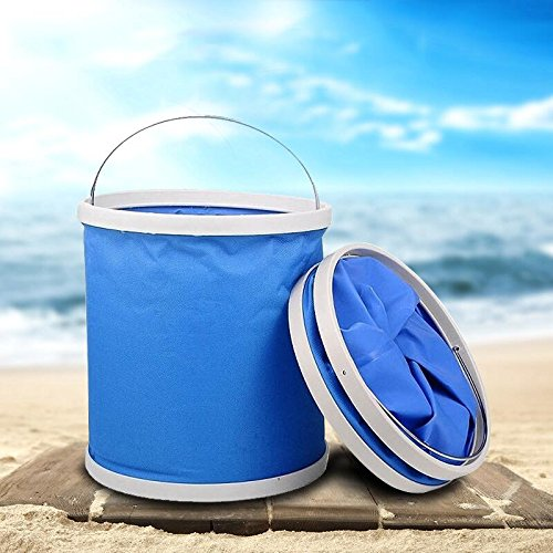 Traveling/ Starter Detail Kit with Collapsible Bucket