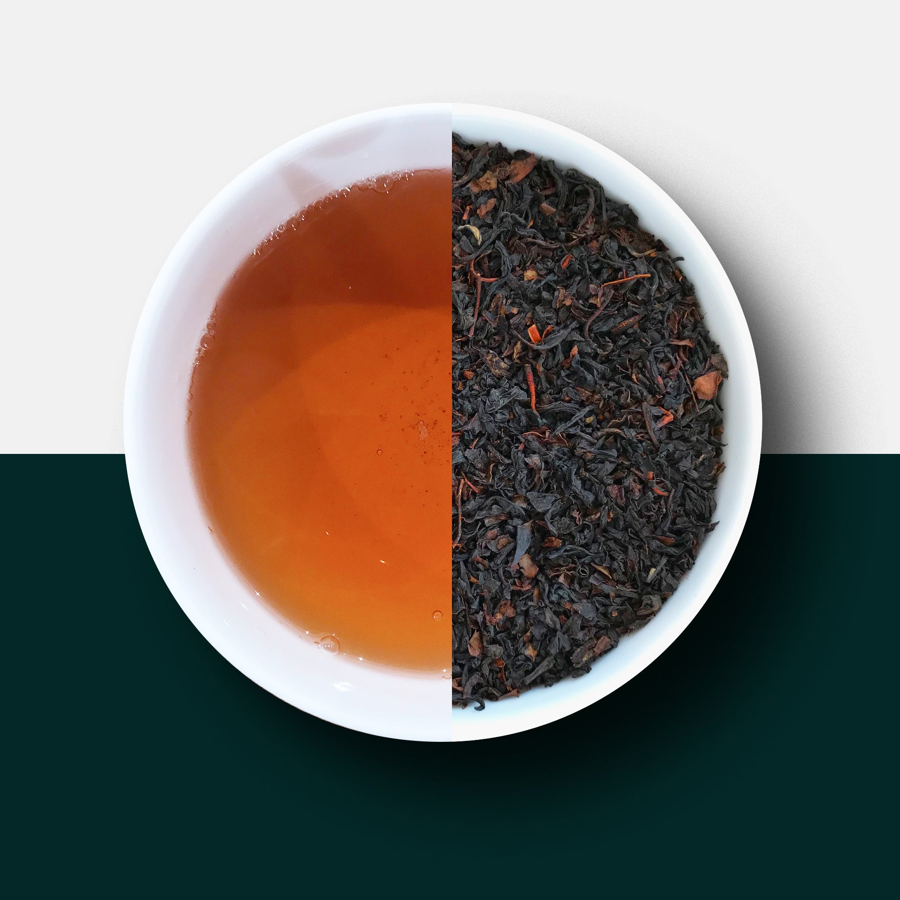 Decaf tea, english breakfast tea
