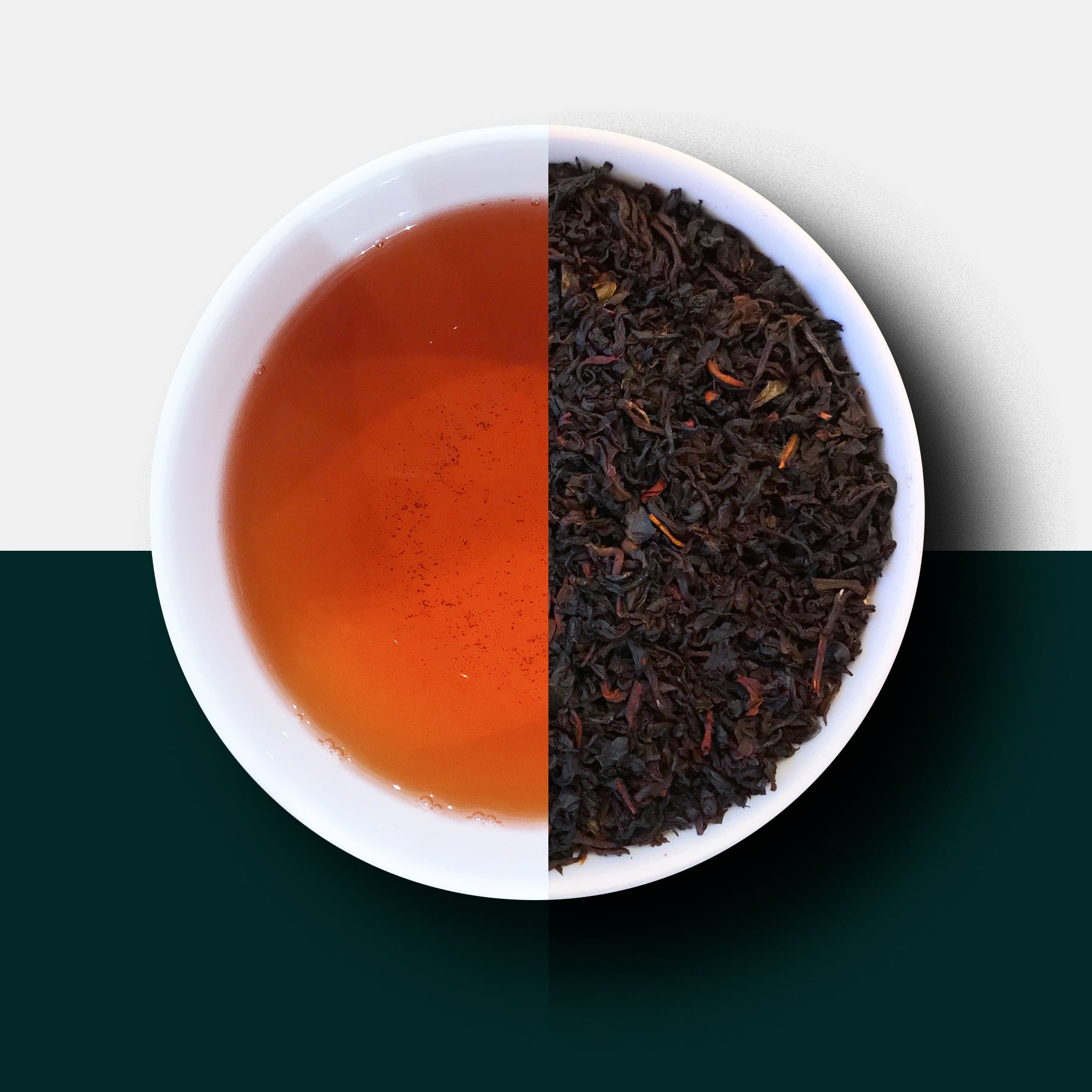 Earl Grey Tea, Loose Leaf and Liquor