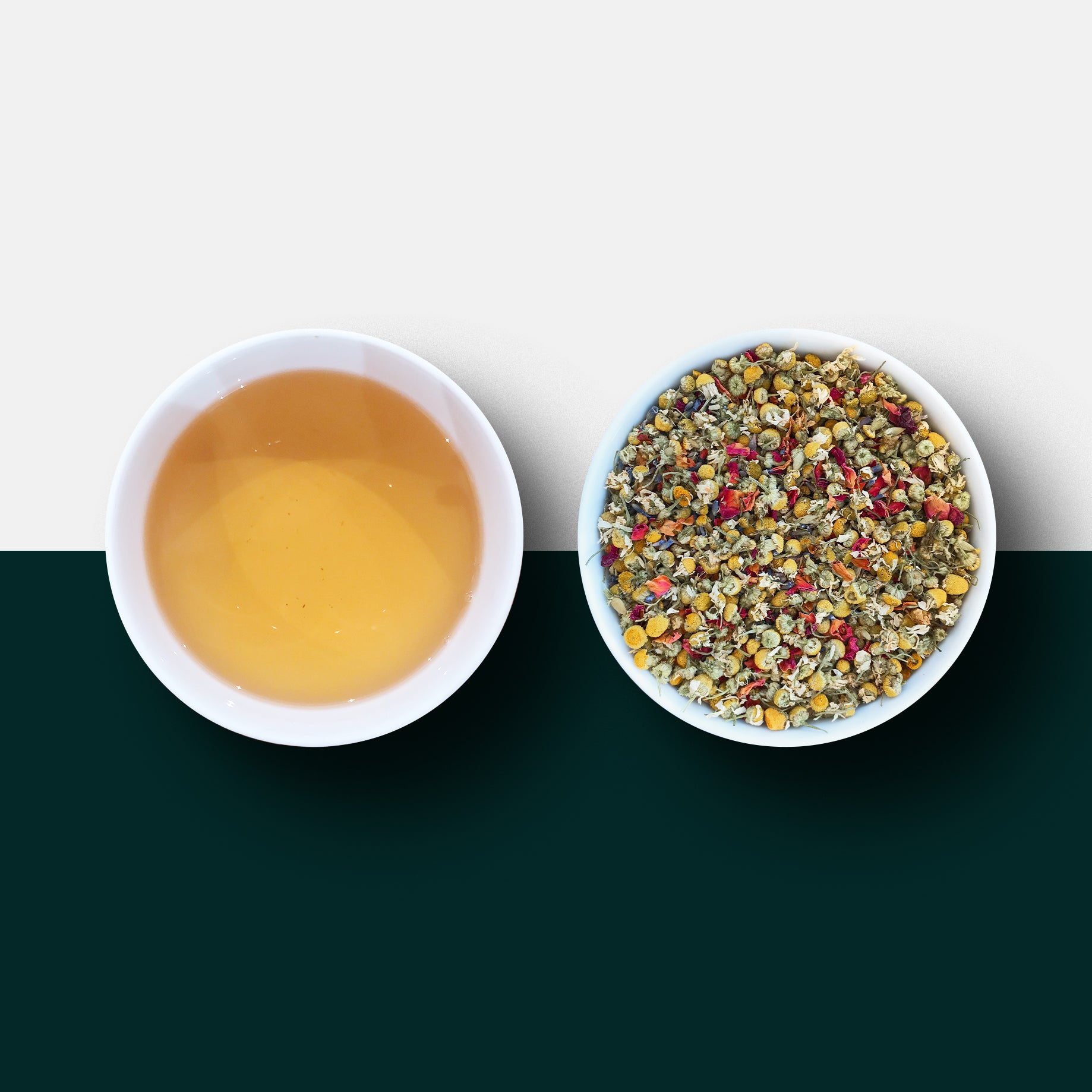 Good Night Tea - Loose Leaf Tea and Liquor - Camomile Tea/ Chamomile Tea, Rose Petals and Lavender
