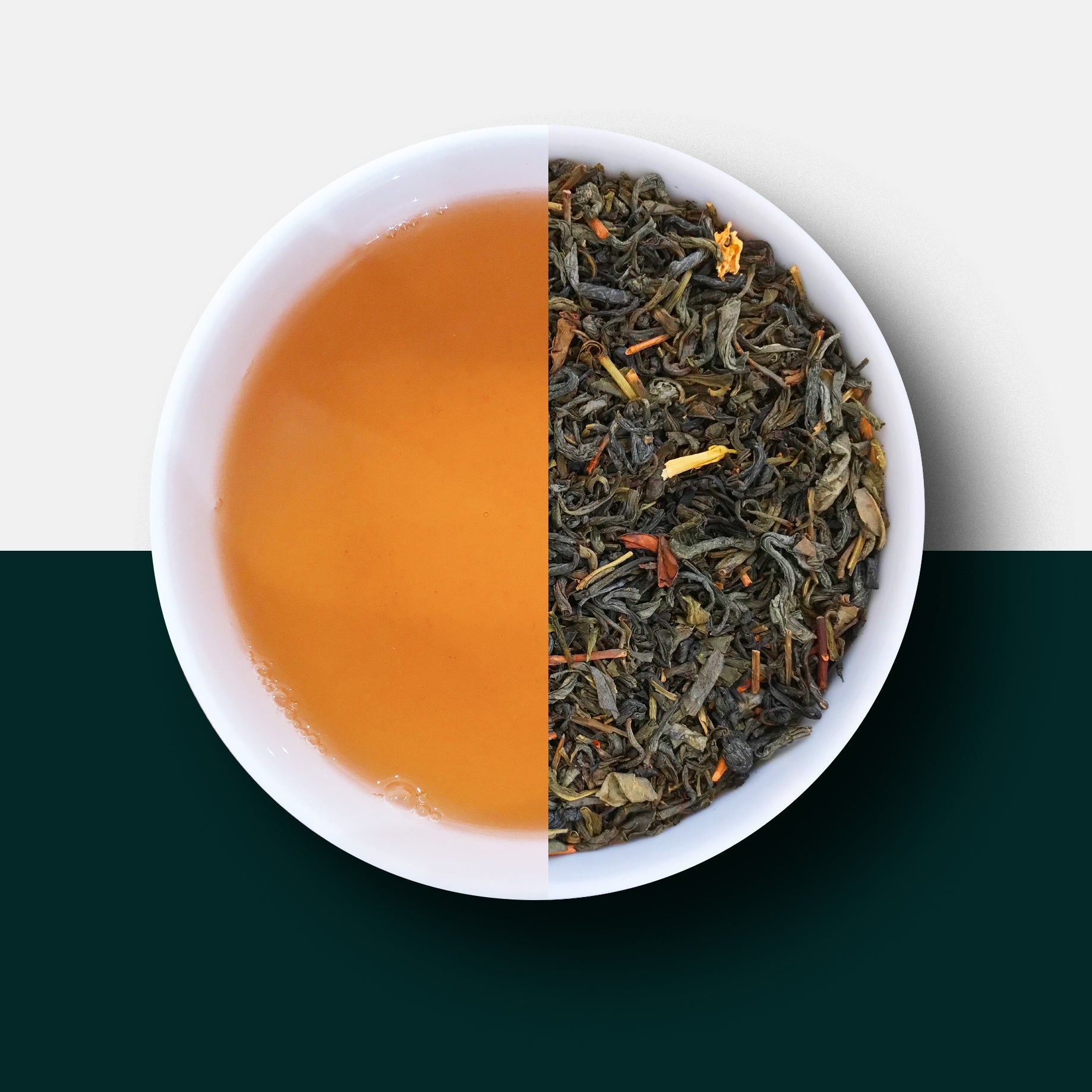 Jasmine Tea - Loose Leaf Tea and Liquor