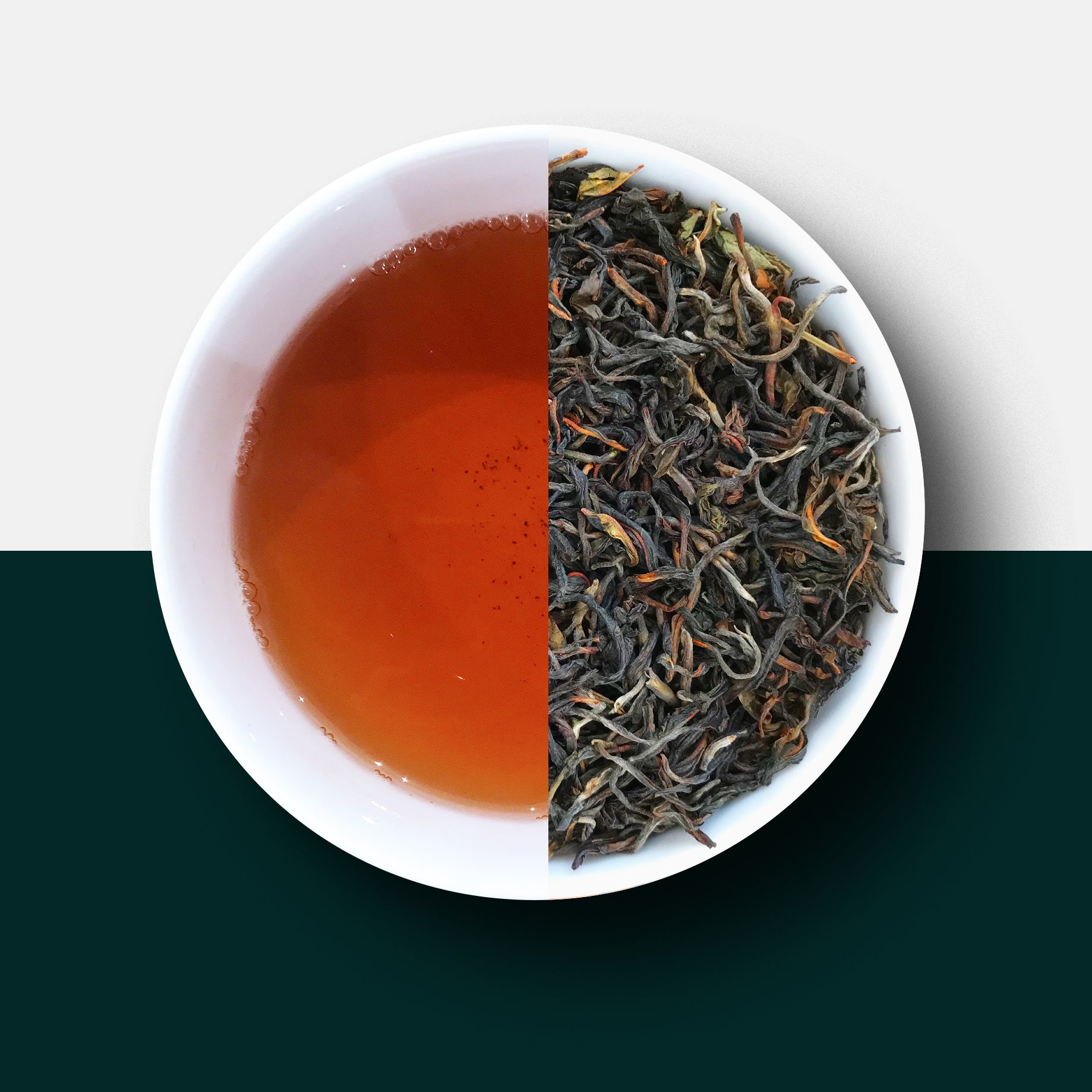 Malawian First Flush Rare Tea Loose Leaves and Liquid