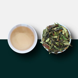 White Tea -  Rare White Peony Loose Leaf Tea and Liquid