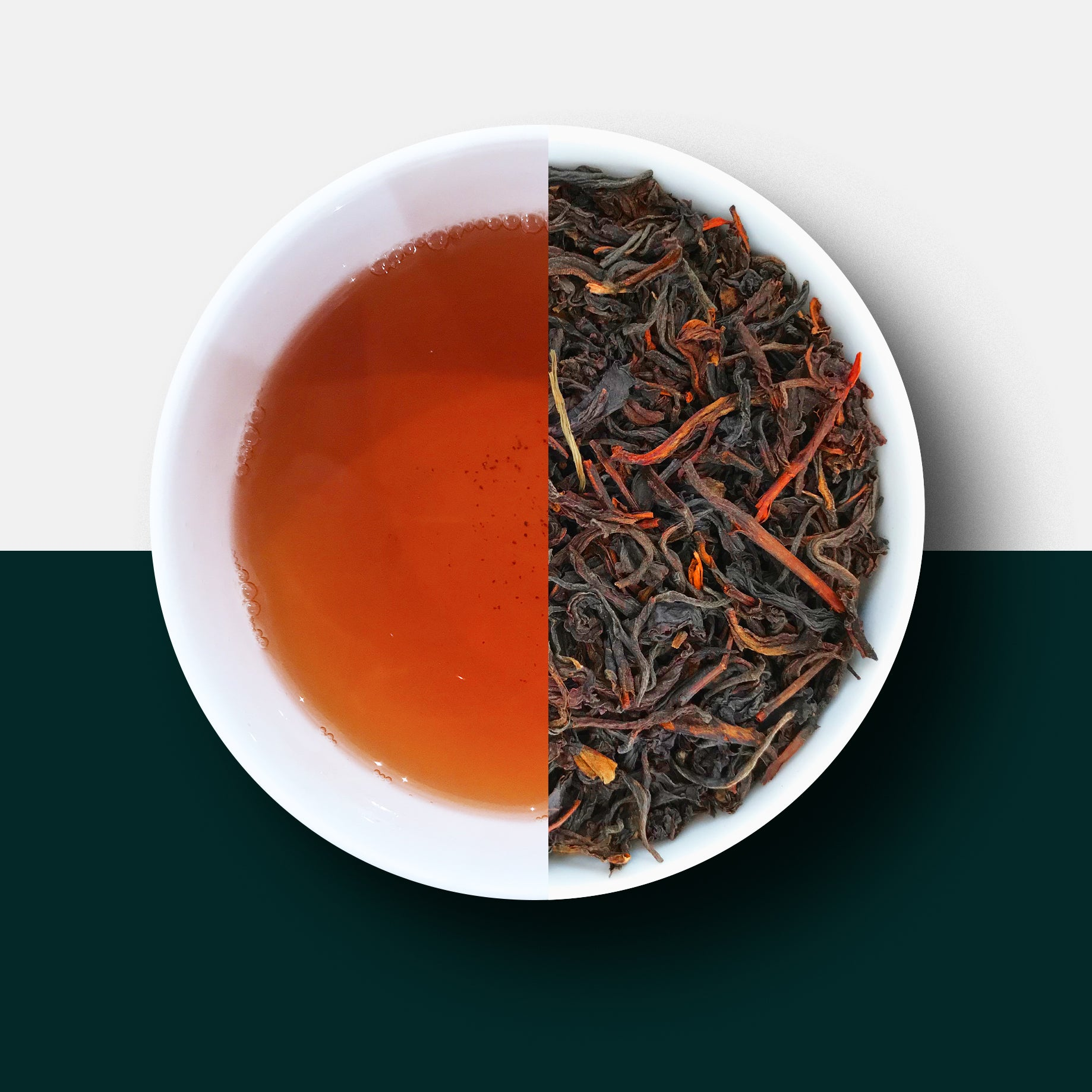 Black Tea - Malawian Smoked Guava Loose Leaf Tea and Liquor