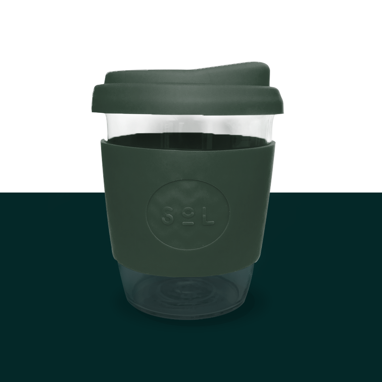 Deep-sea Green Sol Cup