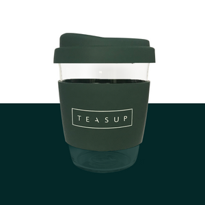Deep-sea Green Sol Cup with Teasup logo