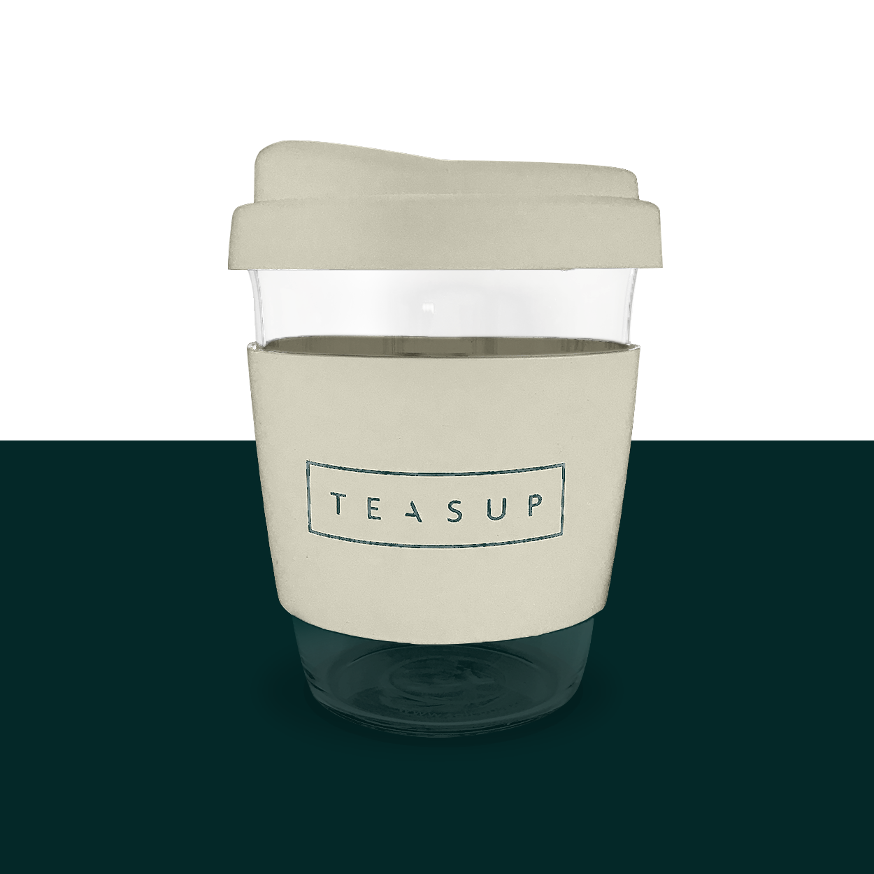 Reusable Cup Teasup SoL Cup White Wave