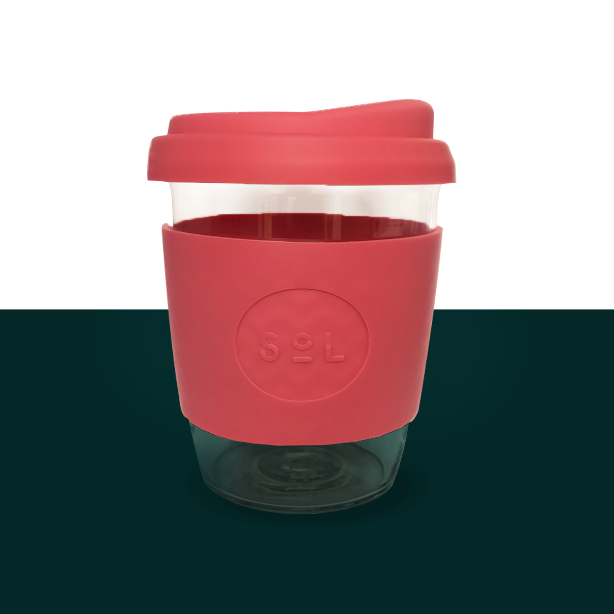 Reusable Cup Teasup SoL Cup Radiant Rose