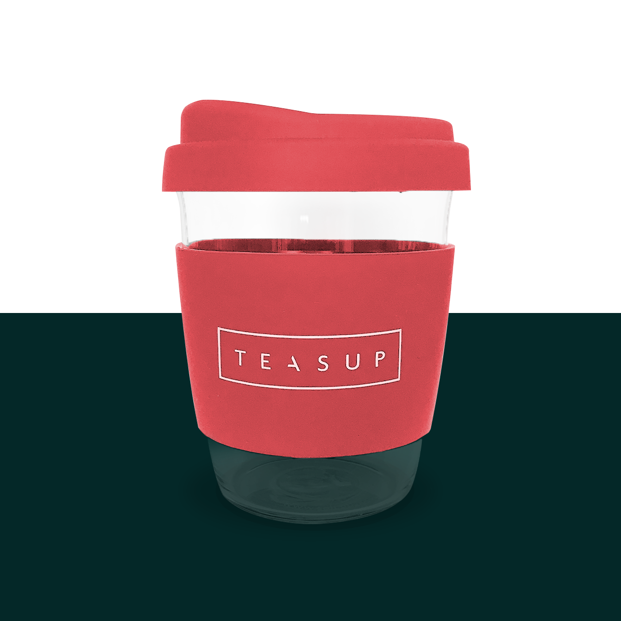 Radiant Rose Sol Cup with Teasup logo