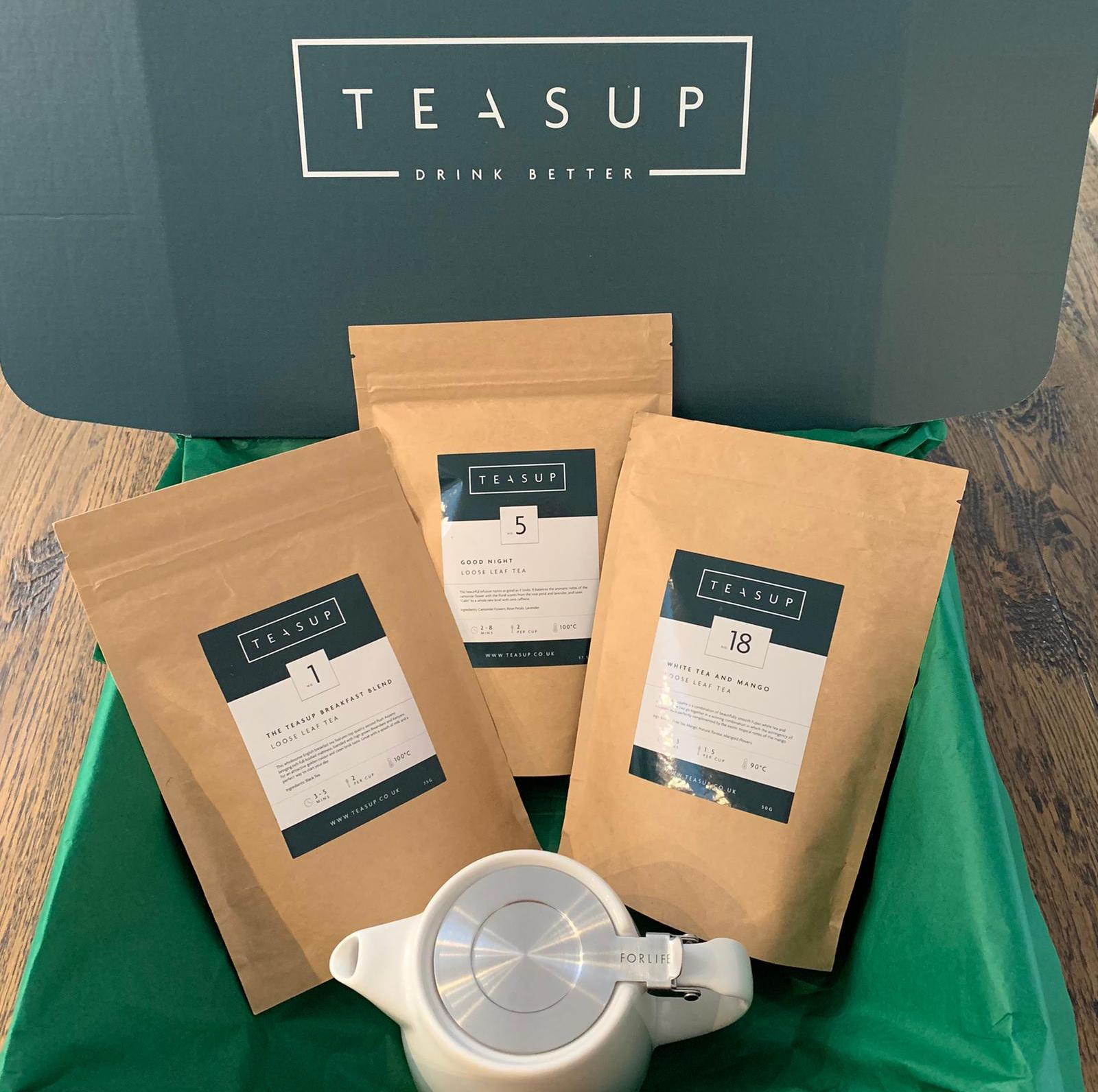 Premium Loose Leaf Tea Starter Set