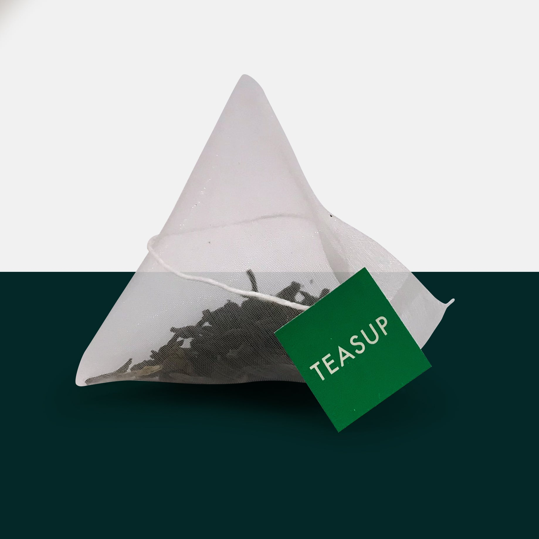 Malawian First Flush Rare Tea in  Biodegradable Pyramid Tea Bag by Teasup