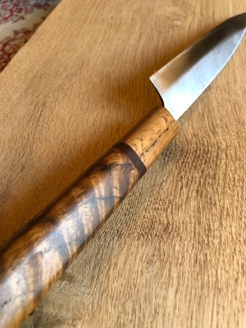 Custom Chef knives with Brown woods a sense of unity of Customer Picture from Michael.R United States