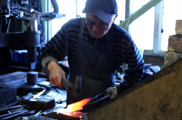 Japanese black smith