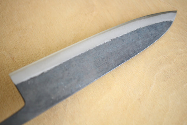Kosuke Muneishi Hand forged blank blade Blue #2 steel Kurouchi Gyuto knife 210mm