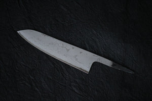 kitchen knife Damascus blank blade