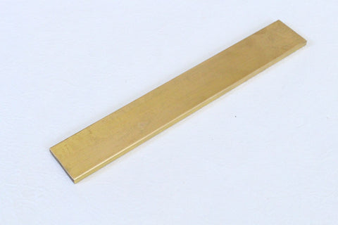 Brass flat bar plate knife making tool  20 x 3 x 0.5 cm