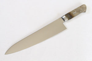 Ibuki AUS-8 steel Kitchen blank blade Gyuto Chef knife 210mm full tang
