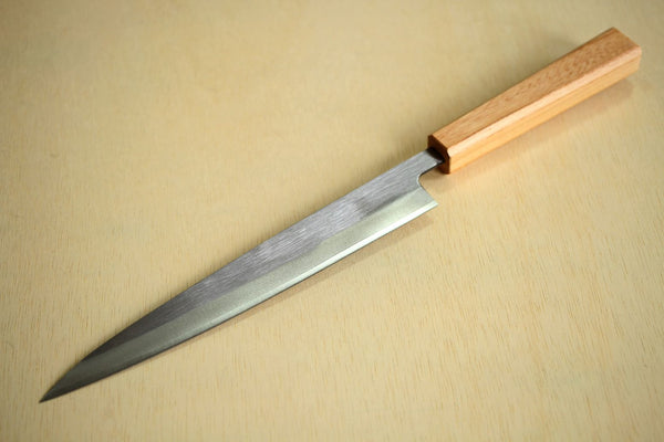 Japanese Zelkova octagon wooden knife wa handle blank 130mm