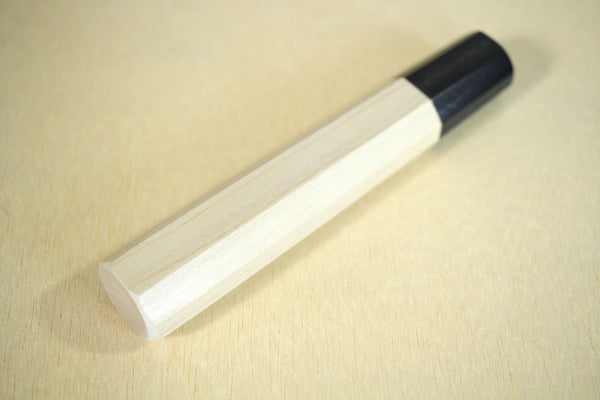 Japanese Magnolia traditional octagon wooden handle blank custom knife making tool S 134mm