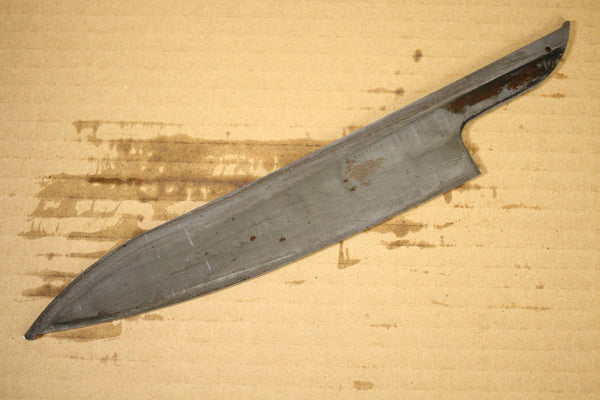 HAP40 Powdered High Speed Steel blade blank Gyuto knife 215mm non edged