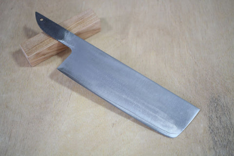 HAP40 Powdered High Speed Steel blade blank warikomi Shuho Nakiri knife 160mm