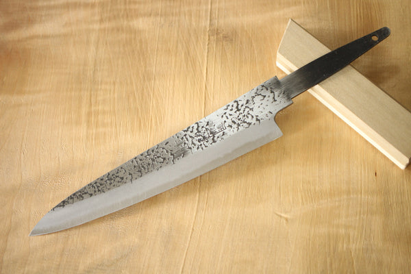 Ibuki hammered Aogami super blue steel blank blade Petty Custom knife Making 150mm