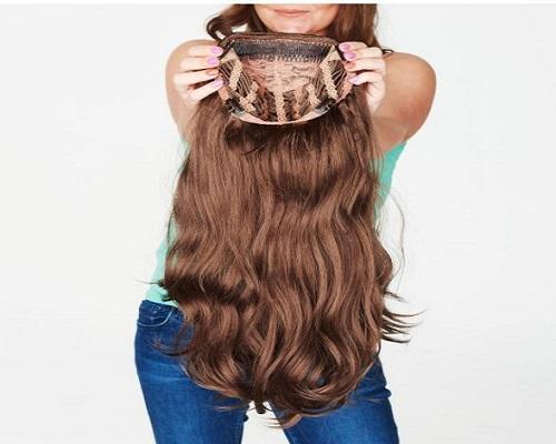 INSTAGLAM 3/4 HAIR PIECE