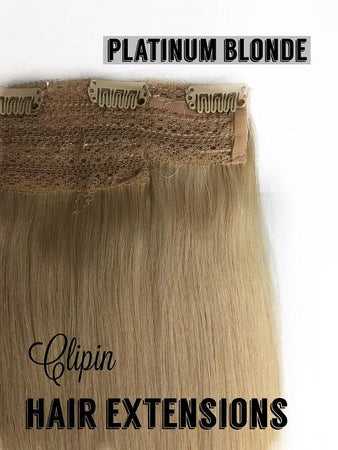 "One Piece Clip In Hair Extensions/Human Hair/24"" Length/150grams"