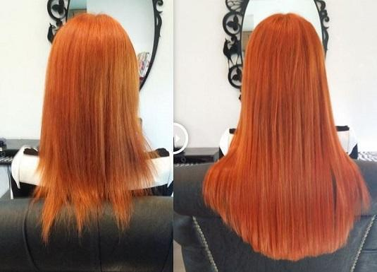 3/4 of Permanent Hair Extensions - HairLocks Hair Extensions on the Gold Coast