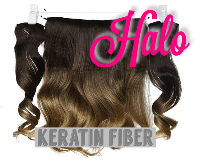 "Halo Extensions  | Hair Piece | 18"" Length 