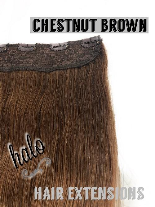 "Halo/Clip In Hair Extensions/Human Hair/24"" Length/150grams"