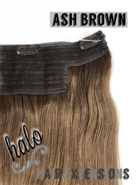 "Halo/Clip In Hair Extensions/Human Hair/23"" Length/150grams"