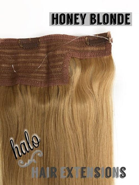 "Halo/Clip In Hair Extensions | Human Hair | 23"" Length 