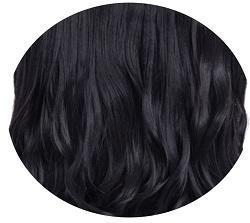 INSTAGLAM 3/4 piece 22″Length Natural Black - HairLocks Hair Extensions on the Gold Coast