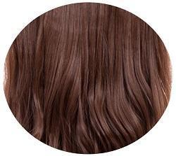 INSTAGLAM 3/4 piece 22″Length Sparkling Amber Brown - HairLocks Hair Extensions on the Gold Coast