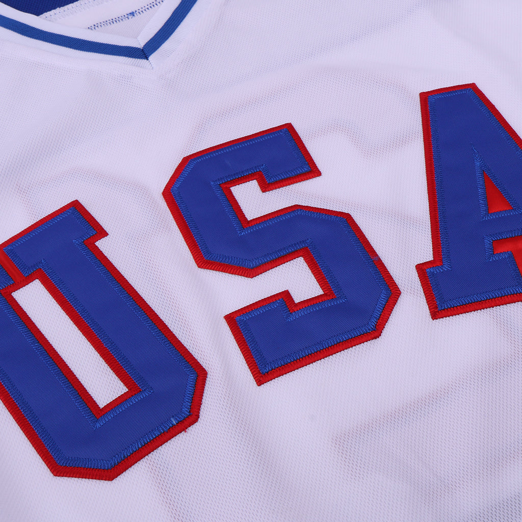 MIKE ERUZIONE #21 TEAM USA MIRACLE ON ICE JERSEY