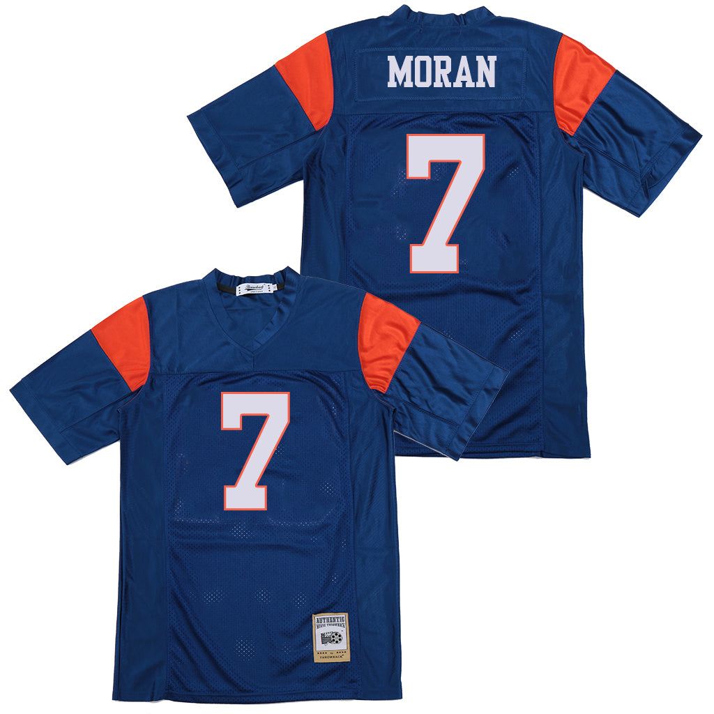 ALEX MORAN #7 BLUE MOUNTAIN STATE JERSEY