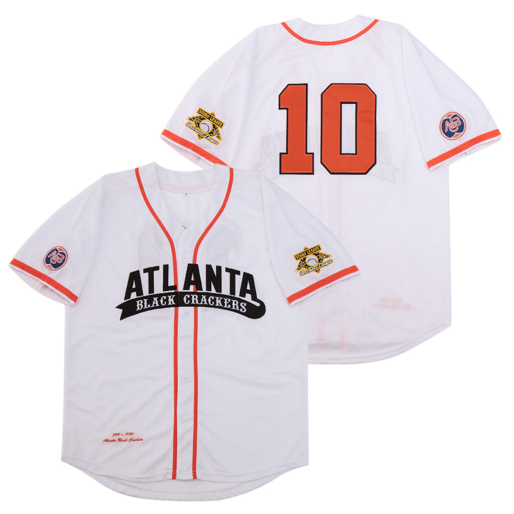 ATLANTA BLACK CRACKERS #10 NEGRO LEAGUE JERSEY