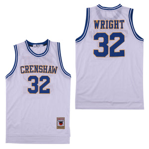 MONICA WRIGHT #22 CRENSHAW HIGH SCHOOL JERSEY