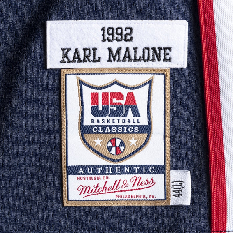 KARL MALONE #11 1992 TEAM USA JERSEY