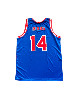 STEFON DIGGS #14 BUFFALO BILLS BASKETBALL JERSEY