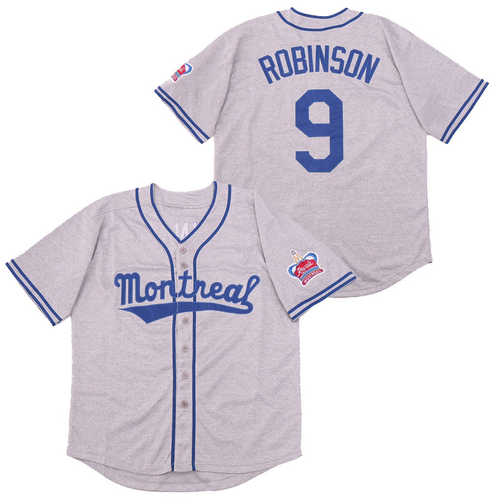 JACKIE ROBINSON #9 MONTREAL ROYALS 1946 JERSEY