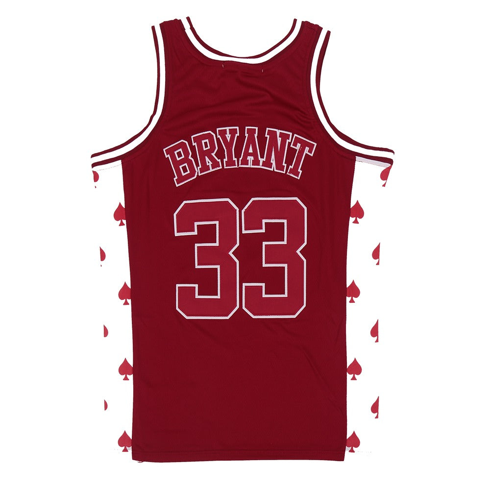 KOBE BRYANT #33 LOWER MERION SPADES HIGH SCHOOL JERSEY