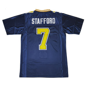 MATTHEW STAFFORD #7 HIGHLAND PARK SCOTS HIGH SCHOOL JERSEY
